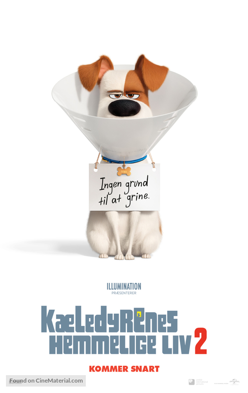 The Secret Life of Pets 2 - Danish Movie Poster