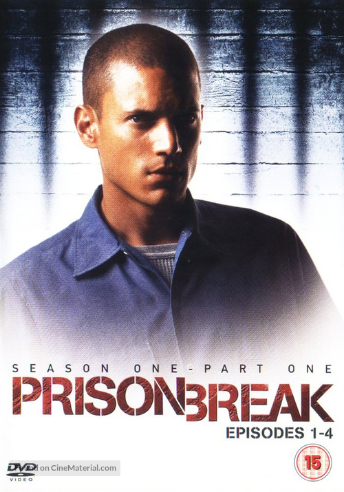 """Prison Break"" - DVD movie cover"
