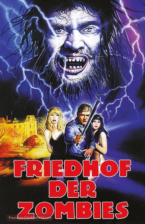 Cementerio del terror - German DVD cover