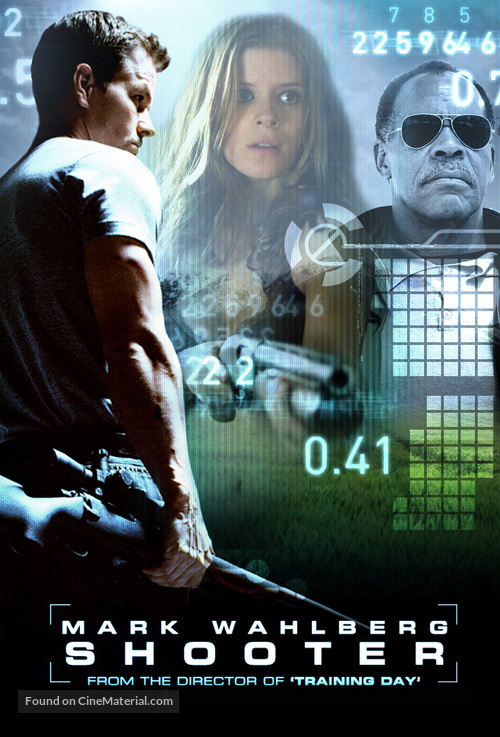 Shooter - DVD cover