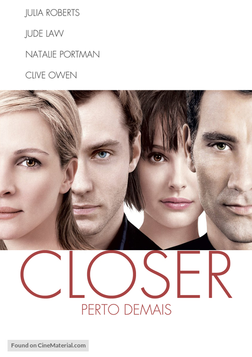 Closer - Brazilian poster