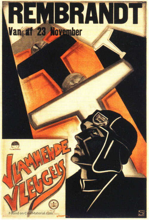 Wings - Dutch Movie Poster
