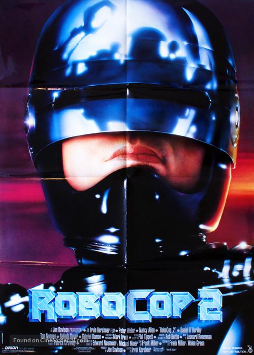 RoboCop 2 - Danish Movie Poster