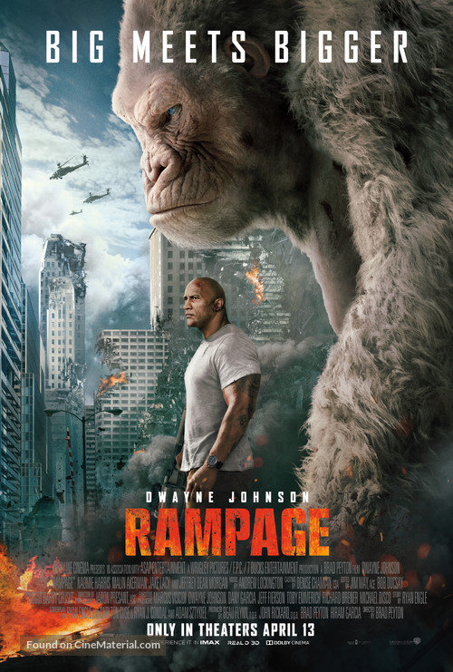 Rampage - Theatrical movie poster