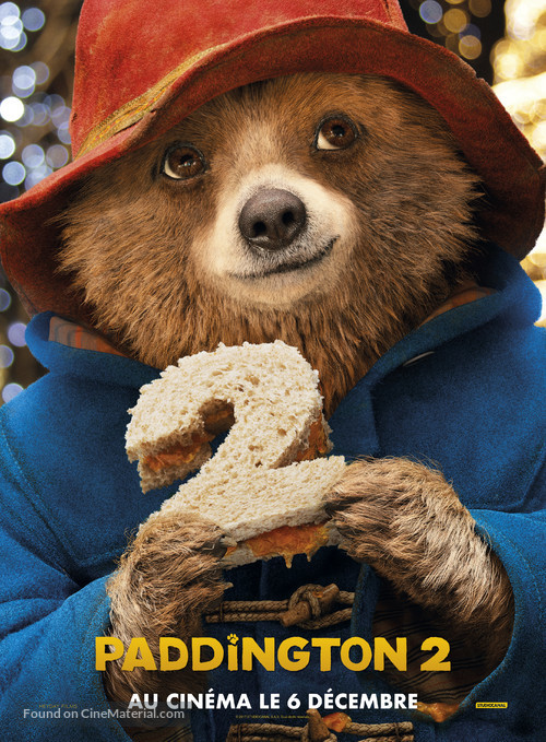 Paddington 2 - French Movie Poster