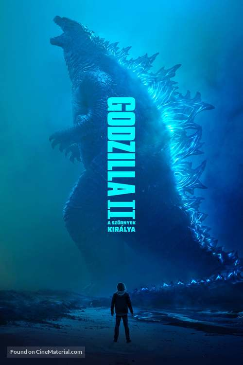 Godzilla: King of the Monsters - Hungarian Movie Cover