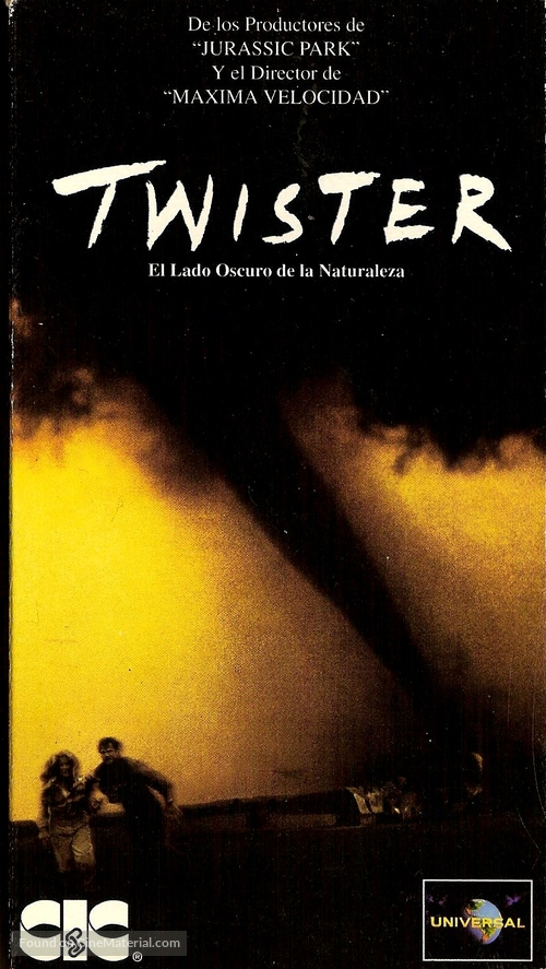 Twister - Argentinian Movie Cover