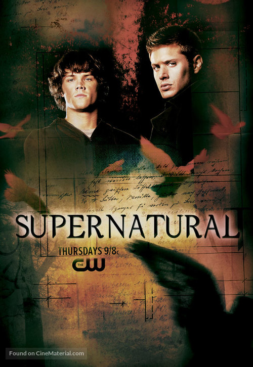 """Supernatural"" - Movie Poster"