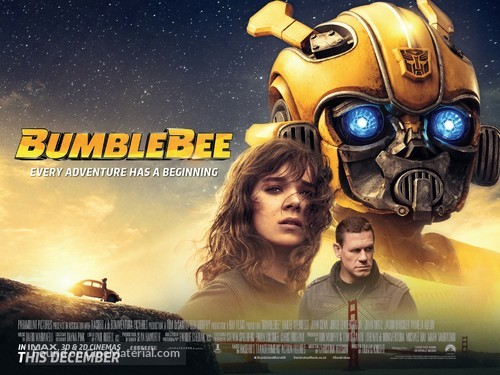 Bumblebee - British Movie Poster