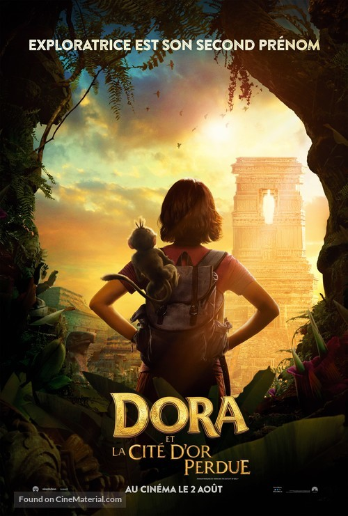 Dora and the Lost City of Gold - Canadian Movie Poster