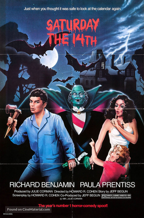 Saturday the 14th - Movie Poster