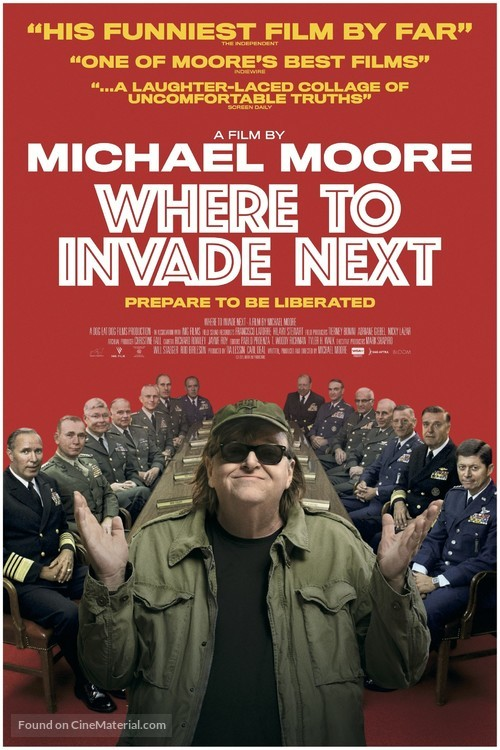 Where to Invade Next - Movie Poster