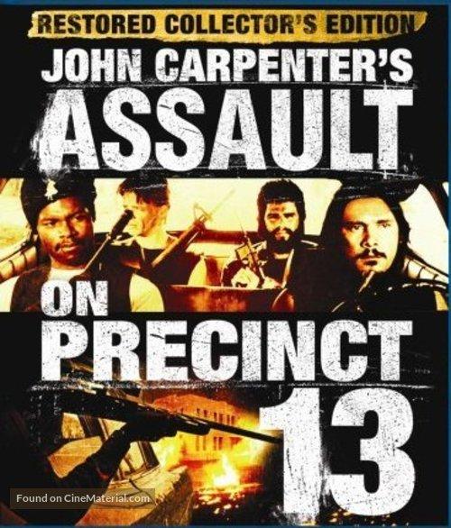 Assault on Precinct 13 - British Movie Cover