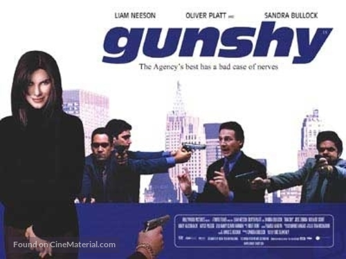 Gun Shy - British Movie Poster