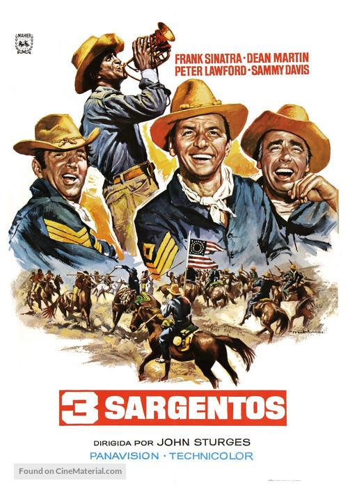 Sergeants 3 - Spanish Movie Poster