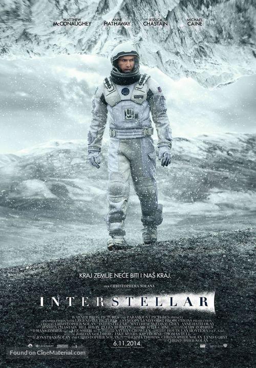 Interstellar - Serbian Movie Poster