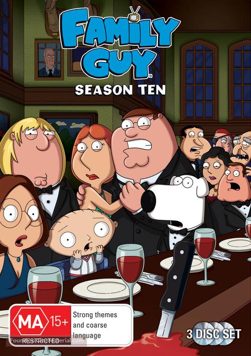 """""""Family Guy"""" - Australian DVD movie cover"""