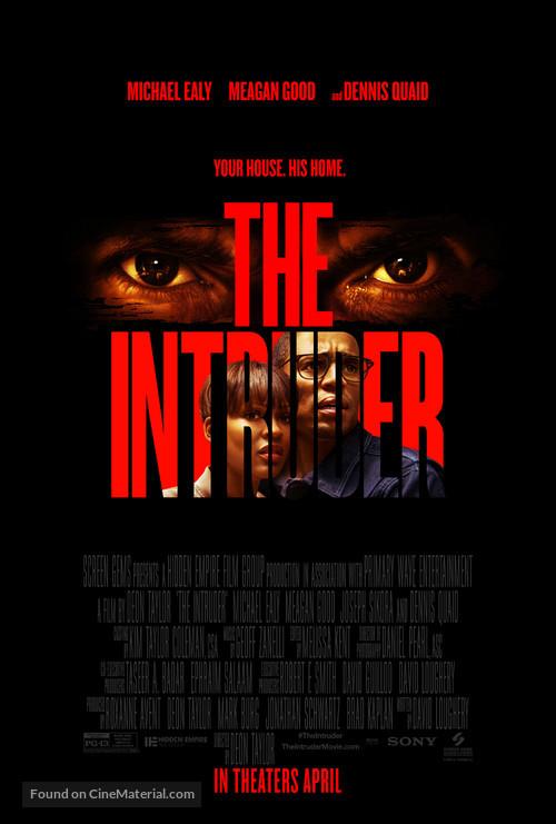 The Intruder - Movie Poster