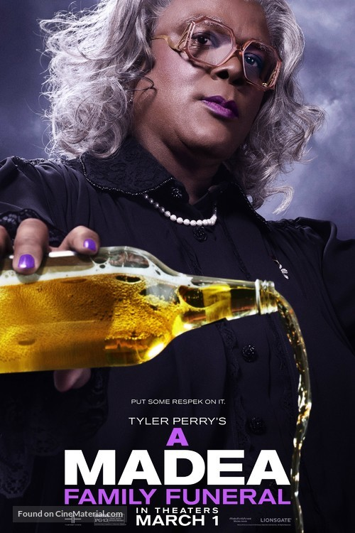 Tyler Perry's a Madea Family Funeral - Movie Poster