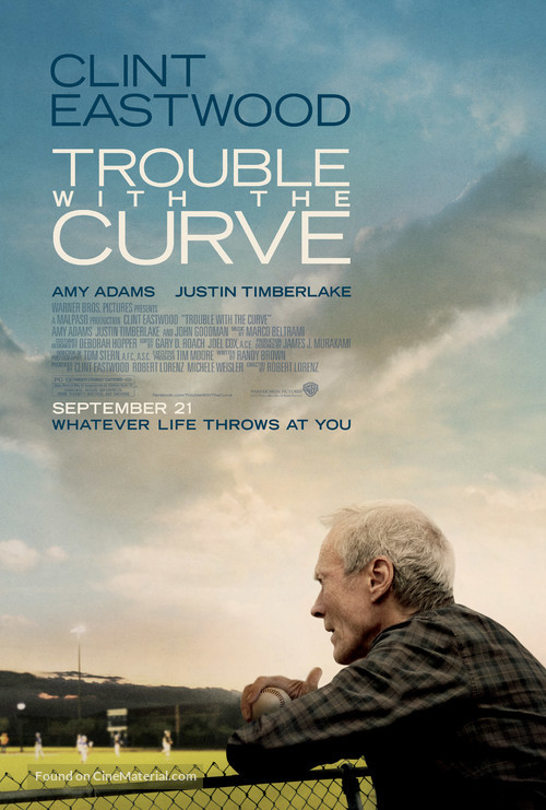 Trouble with the Curve - Movie Poster