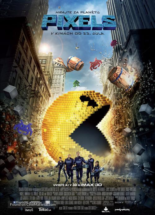 Pixels - Slovak Movie Poster
