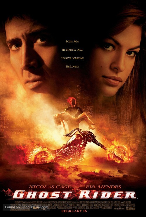 Ghost Rider - Movie Poster