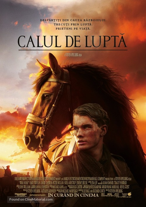 War Horse - Romanian Movie Poster