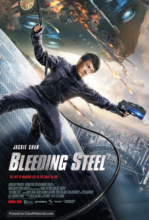 Bleeding Steel - Movie Poster