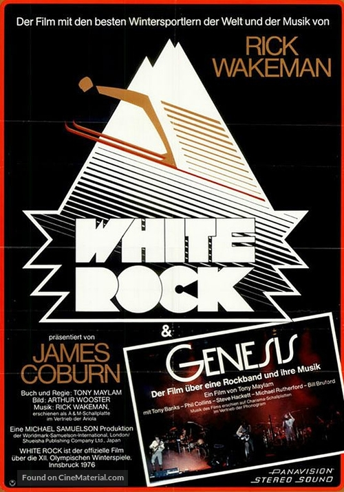 White Rock - German Movie Poster