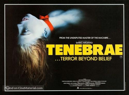 Tenebre - British Movie Poster