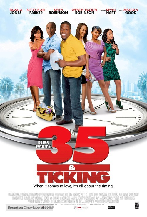 35 and Ticking - Movie Poster