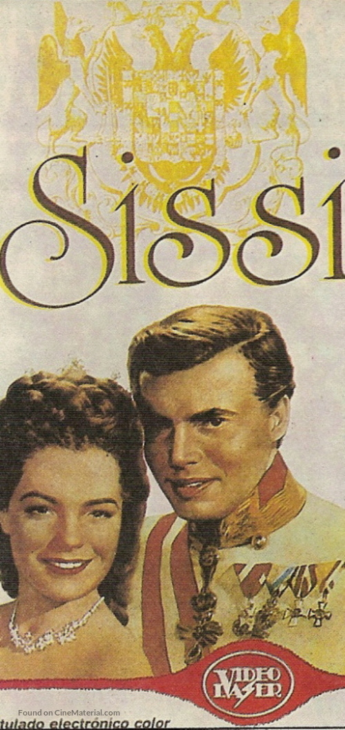 Sissi - Argentinian VHS movie cover