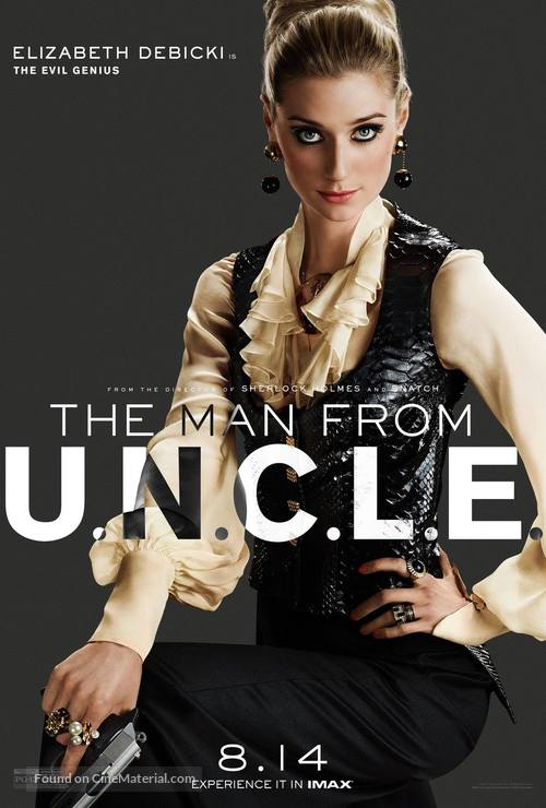 The Man from U.N.C.L.E. - Character poster