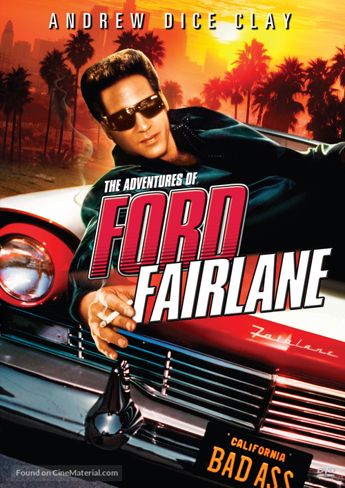 The Adventures of Ford Fairlane - DVD movie cover
