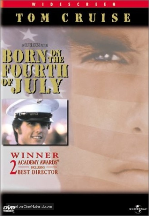 Born on the Fourth of July - DVD movie cover