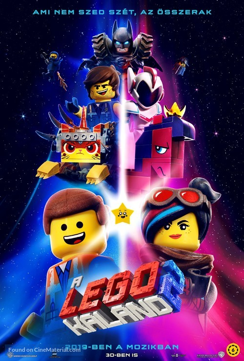 The Lego Movie 2: The Second Part - Hungarian Movie Poster