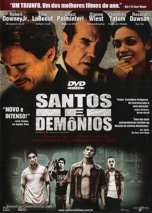 A Guide to Recognizing Your Saints - Brazilian DVD movie cover