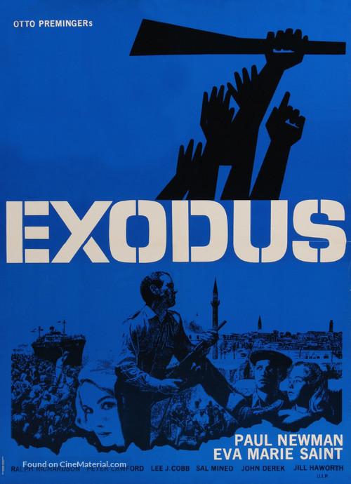 Exodus - Danish Movie Poster