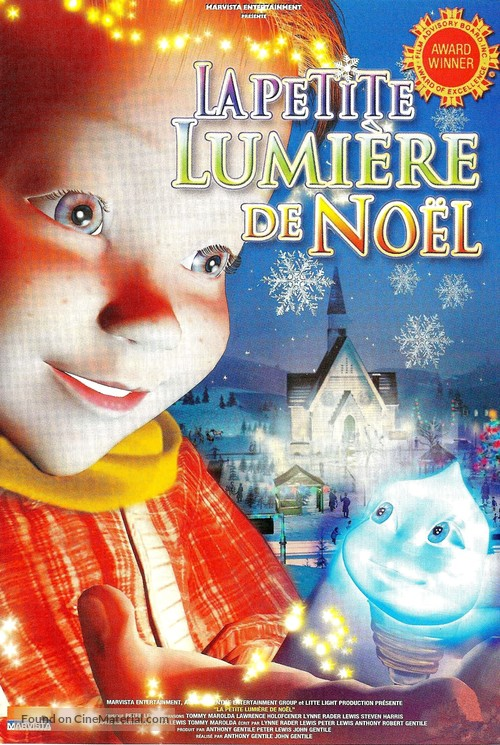 The Littlest Light on the Christmas Tree French dvd cover
