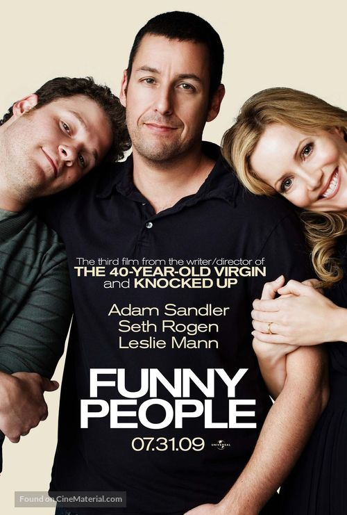 Funny People - Movie Poster