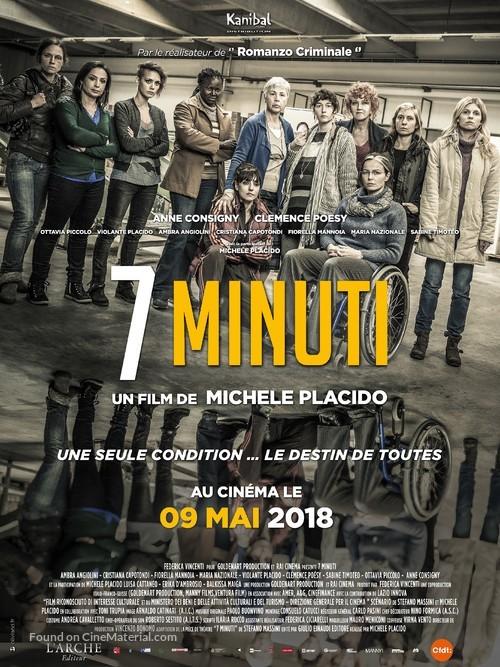 7 Minuti - French Movie Poster