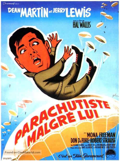 Jumping Jacks - French Movie Poster