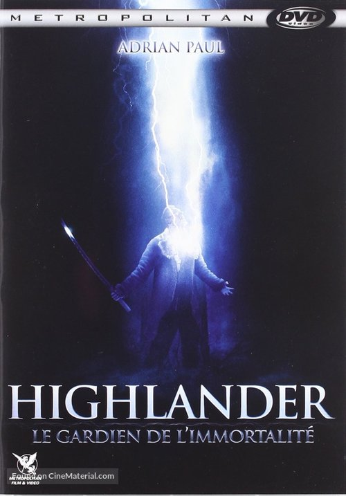 Highlander: The Source - French Movie Cover