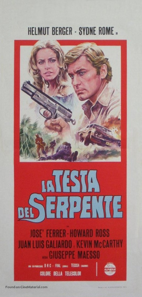 El clan de los inmorales - Italian Movie Poster