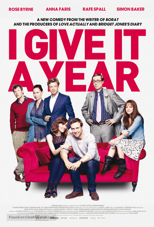 I Give It a Year - Movie Poster