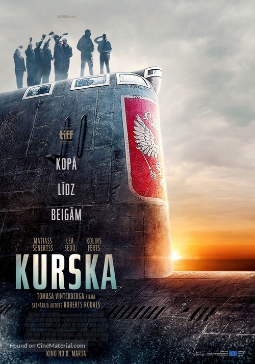 Kursk - Latvian Movie Poster