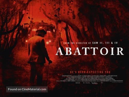 Abattoir - British Movie Poster