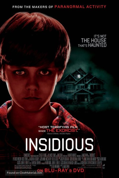 Insidious - Video release movie poster