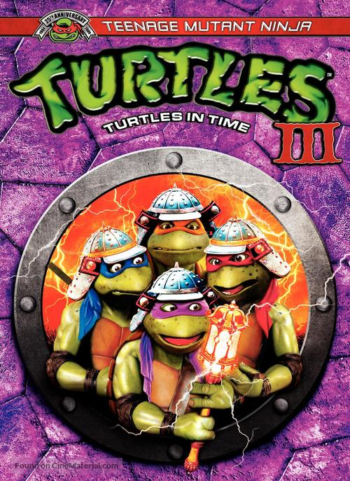 Teenage Mutant Ninja Turtles III - Movie Cover