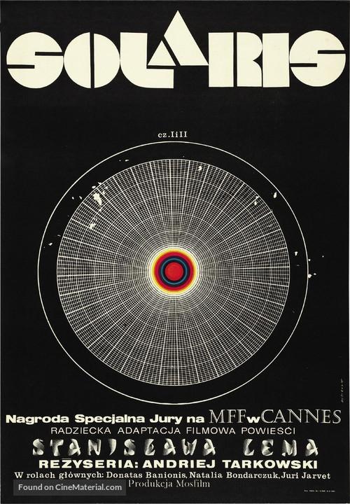 Solyaris - Polish Movie Poster
